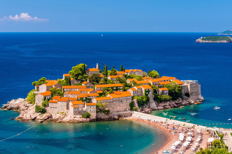 Sveti stefan - Best Destinations in Montenegro - Embassy.am