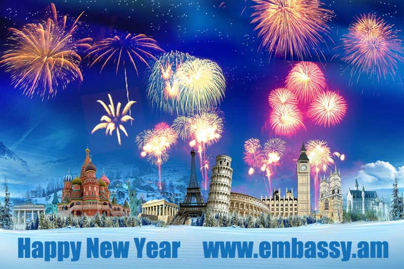 New Year Messages 2018 - Embassy.am