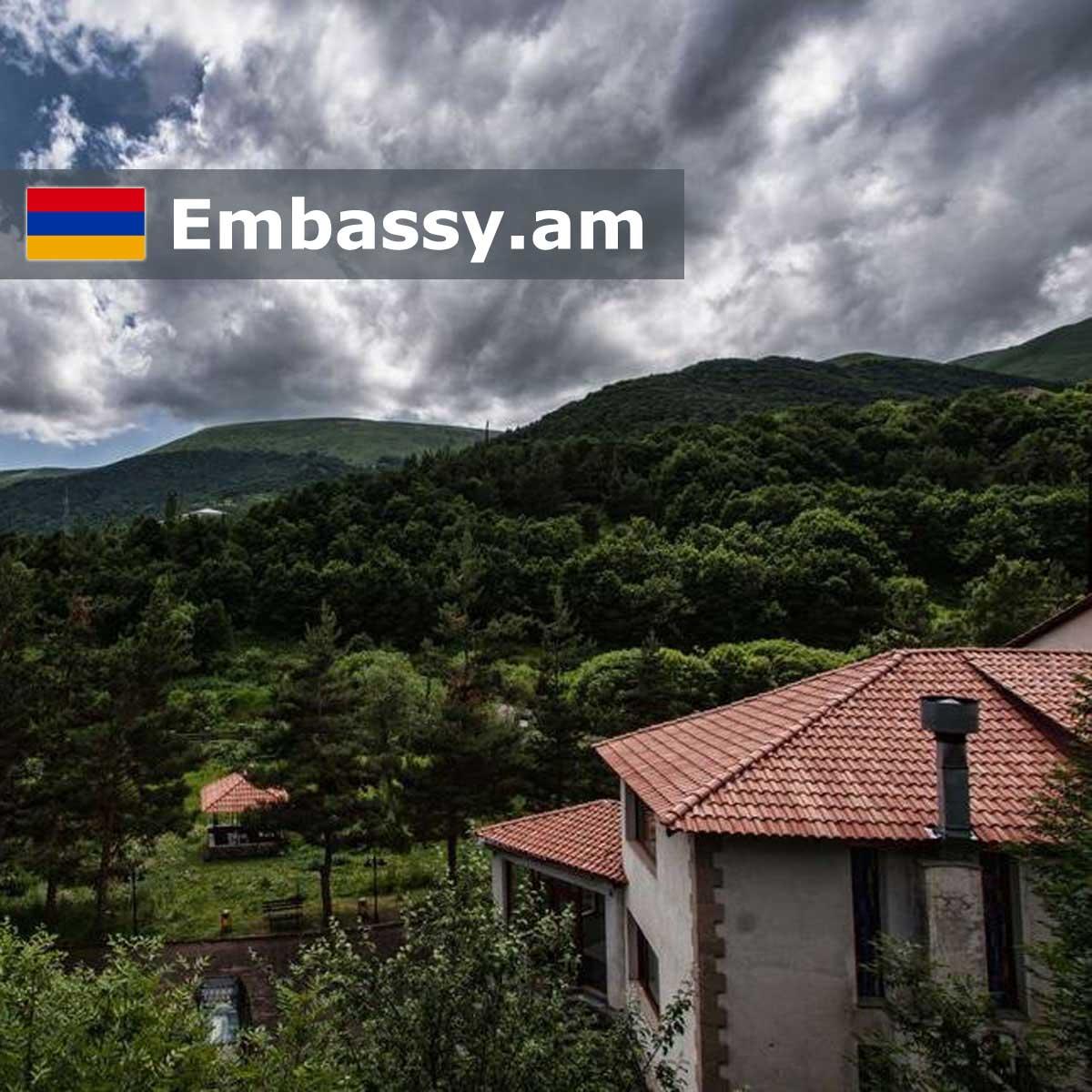 Агверан - Отели в Армении - Embassy.am