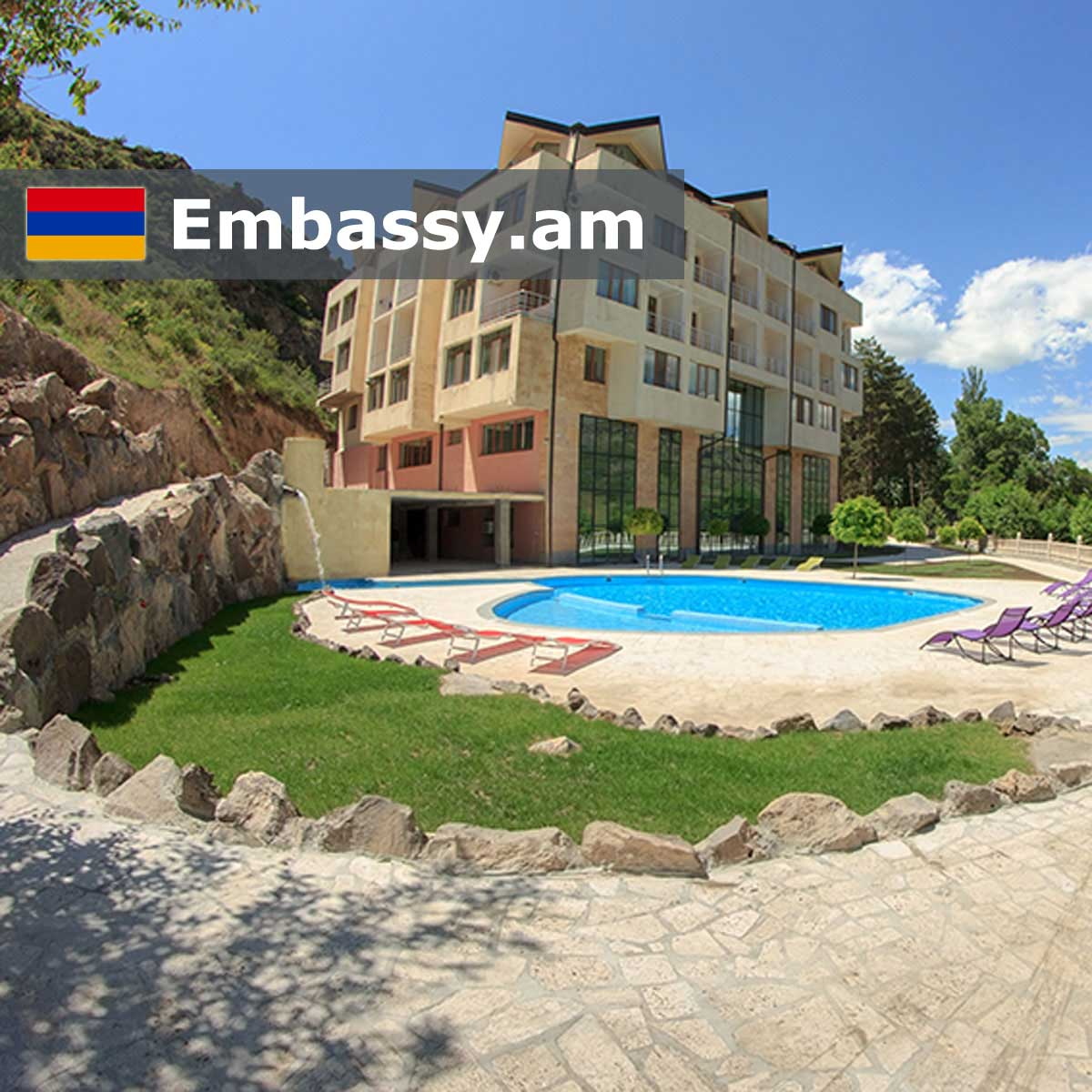 Arzni - Hotels in Armenia - Embassy.am