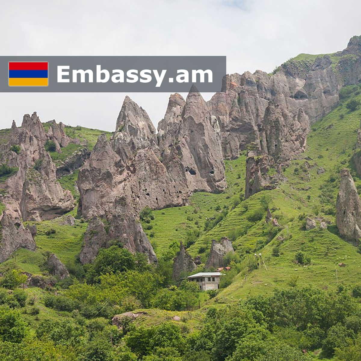 Горис - Отели в Армении - Embassy.am