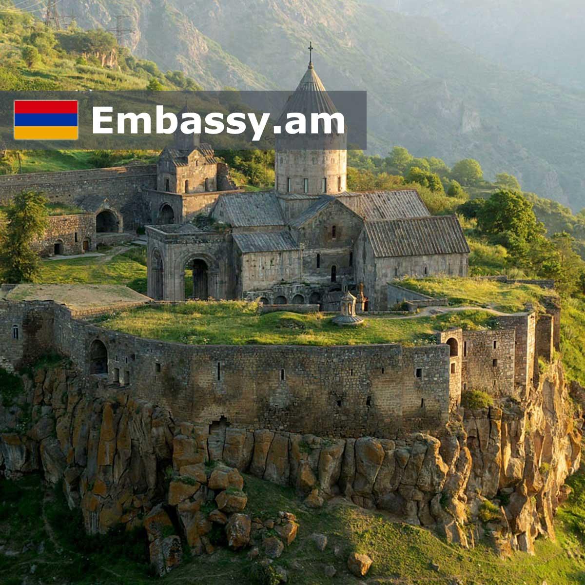 Татевский монастырь - Отели в Армении - Embassy.am