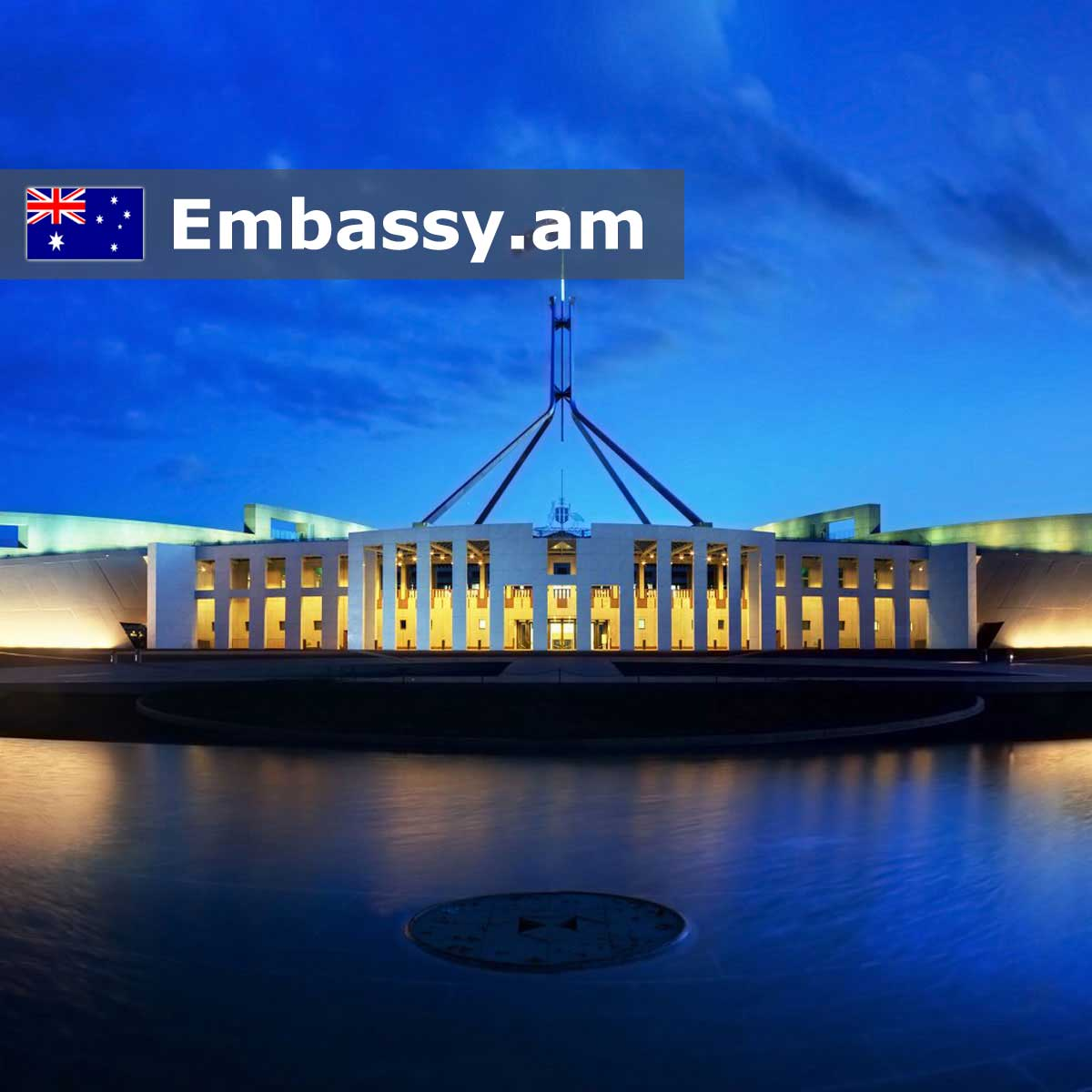 Canberra - Hotels in Australia - Embassy.am