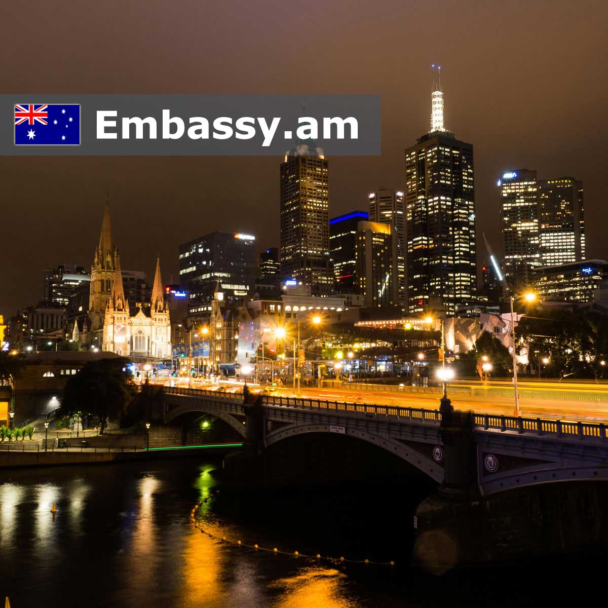 Melbourne - Hotels in Australia - Embassy.am