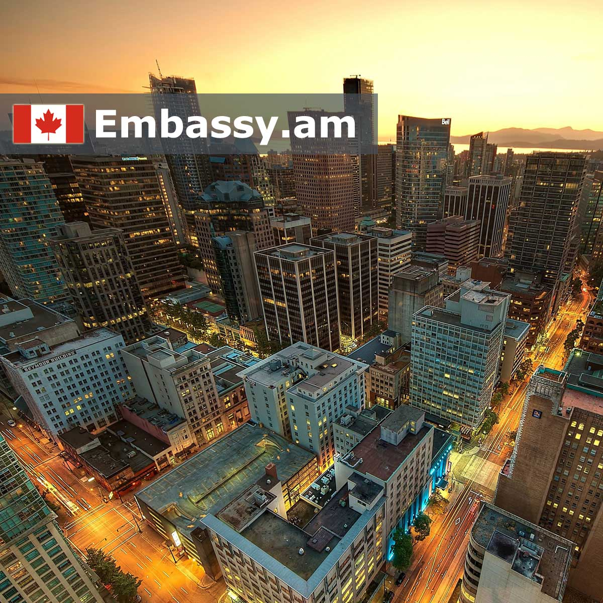 Vancouver - Hotels in Canada - Embassy.am