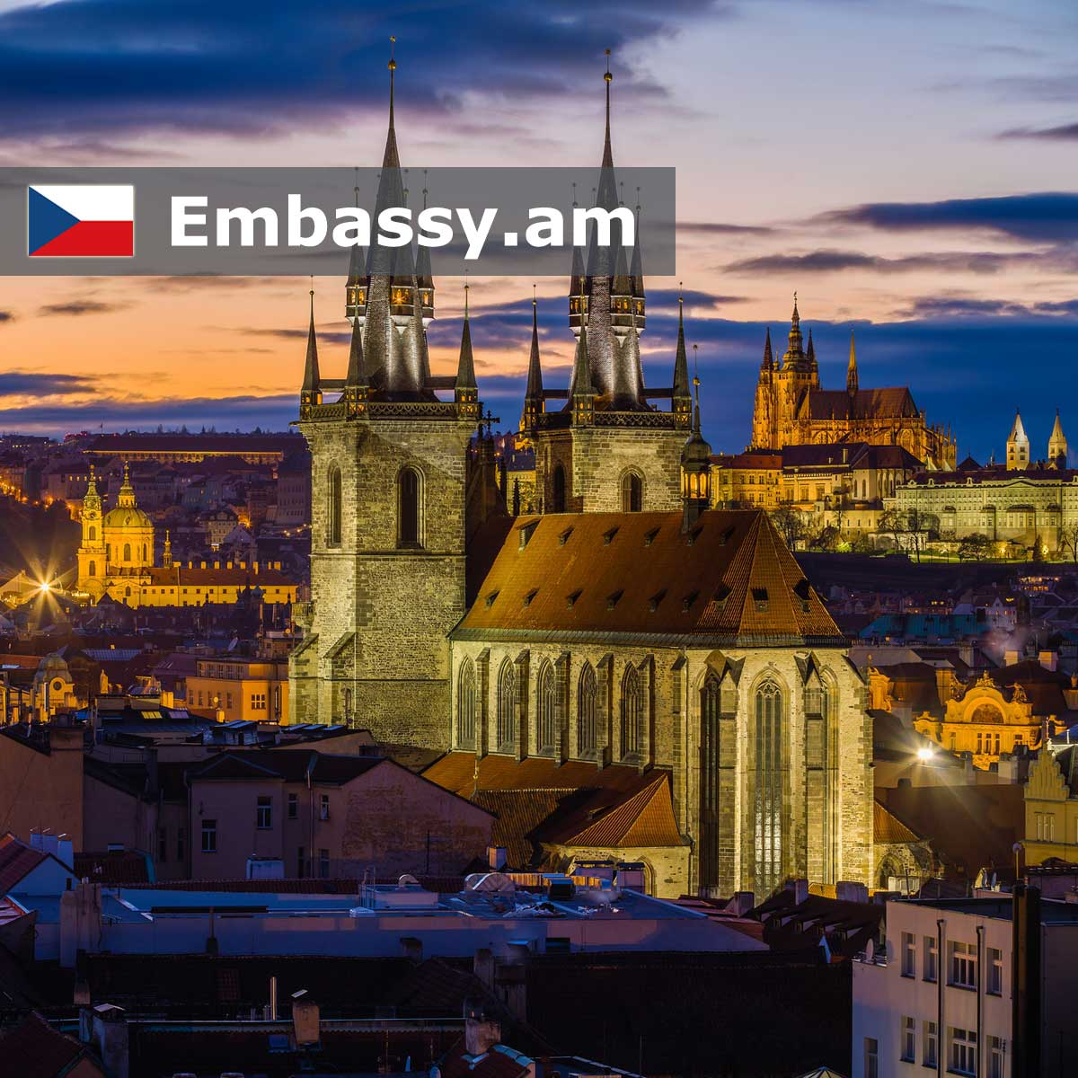 Prague - Hotels in the Czech Republic - Embassy.am