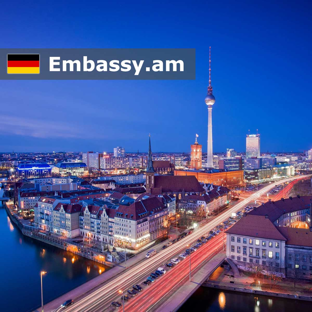 Berlin - Hotels in Germany - Embassy.am
