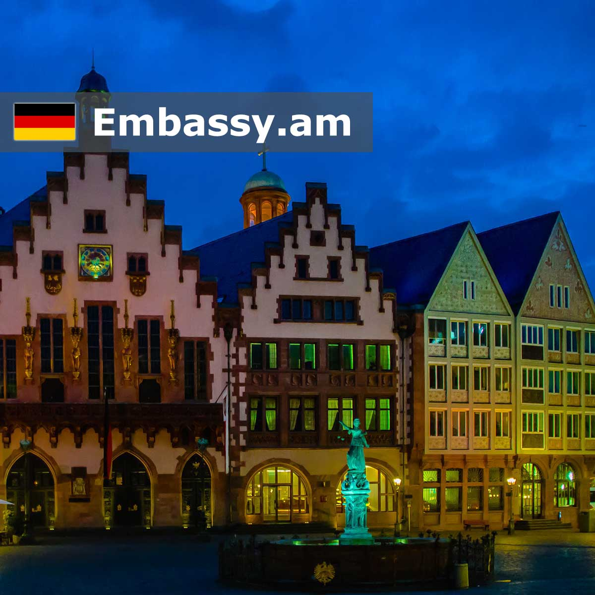 Frankfurt - Hotels in Germany - Embassy.am