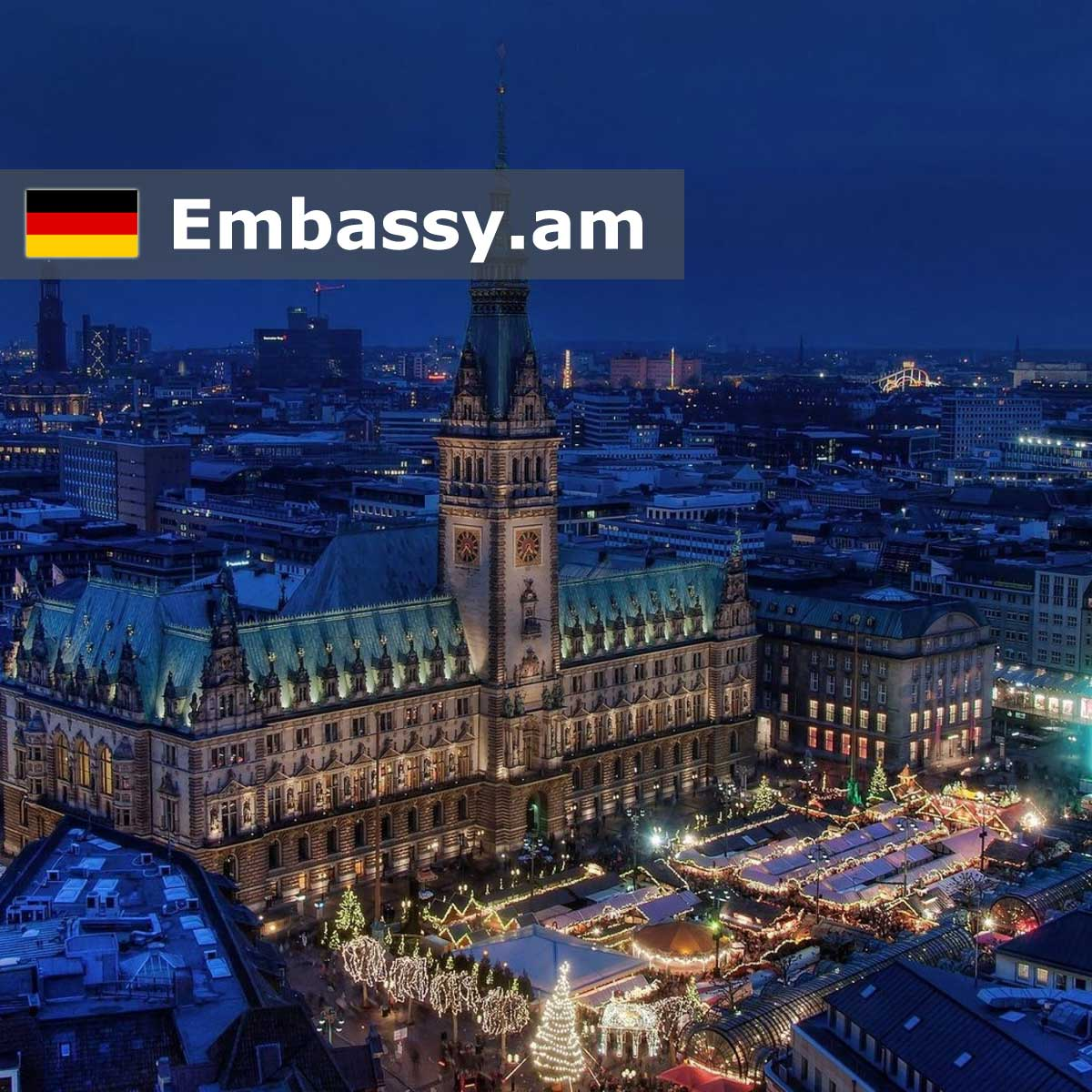 Hamburg - Hotels in Germany - Embassy.am