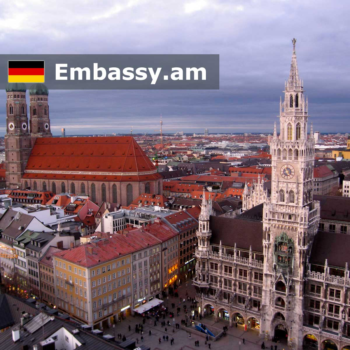 Munich - Hotels in Germany - Embassy.am
