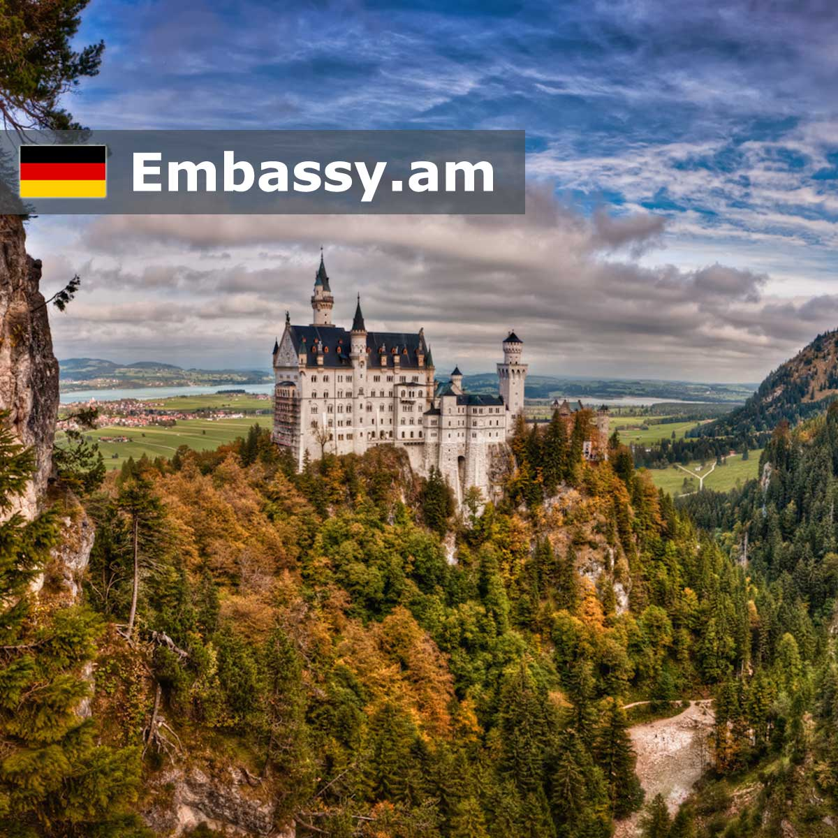 Schwangau - Hotels in Germany - Embassy.am