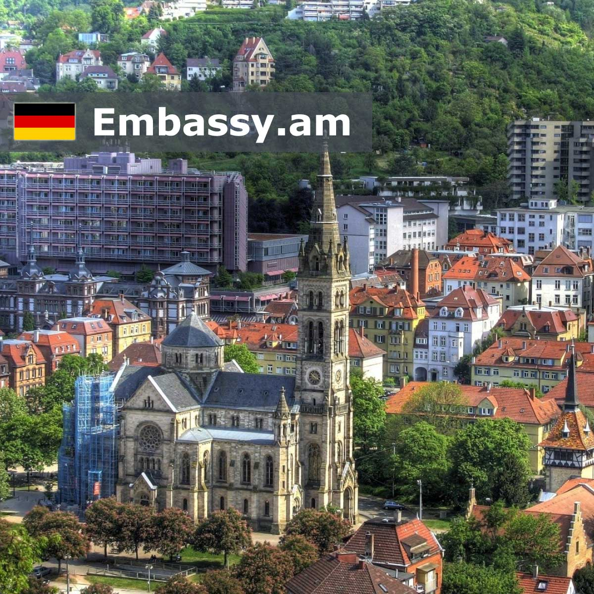 Stuttgart - Hotels in Germany - Embassy.am
