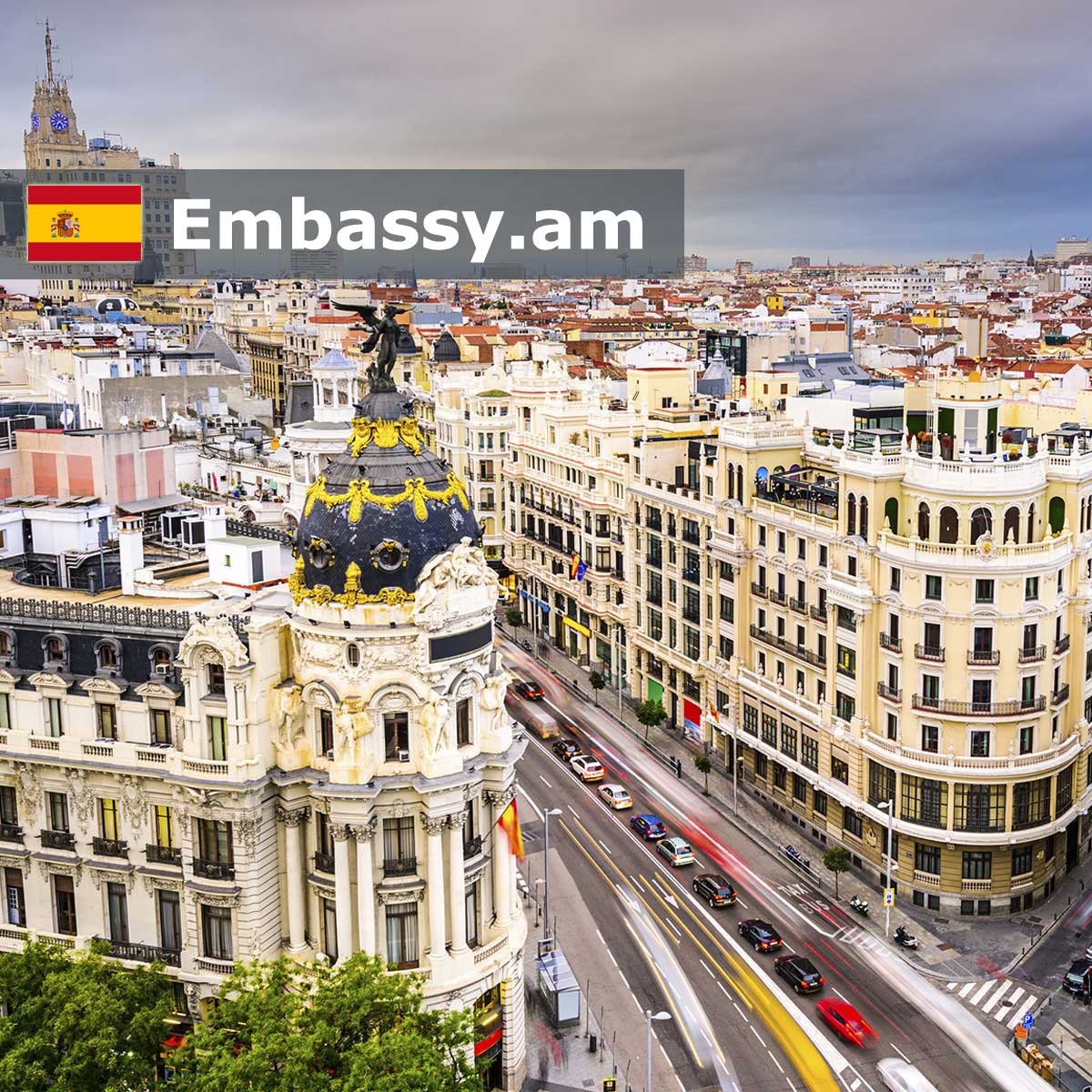 Madrid - Hotels in Spain - Embassy.am