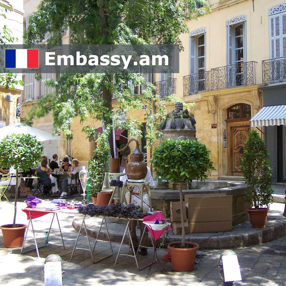 Aix-en-Provence - Hotels in France - Embassy.am