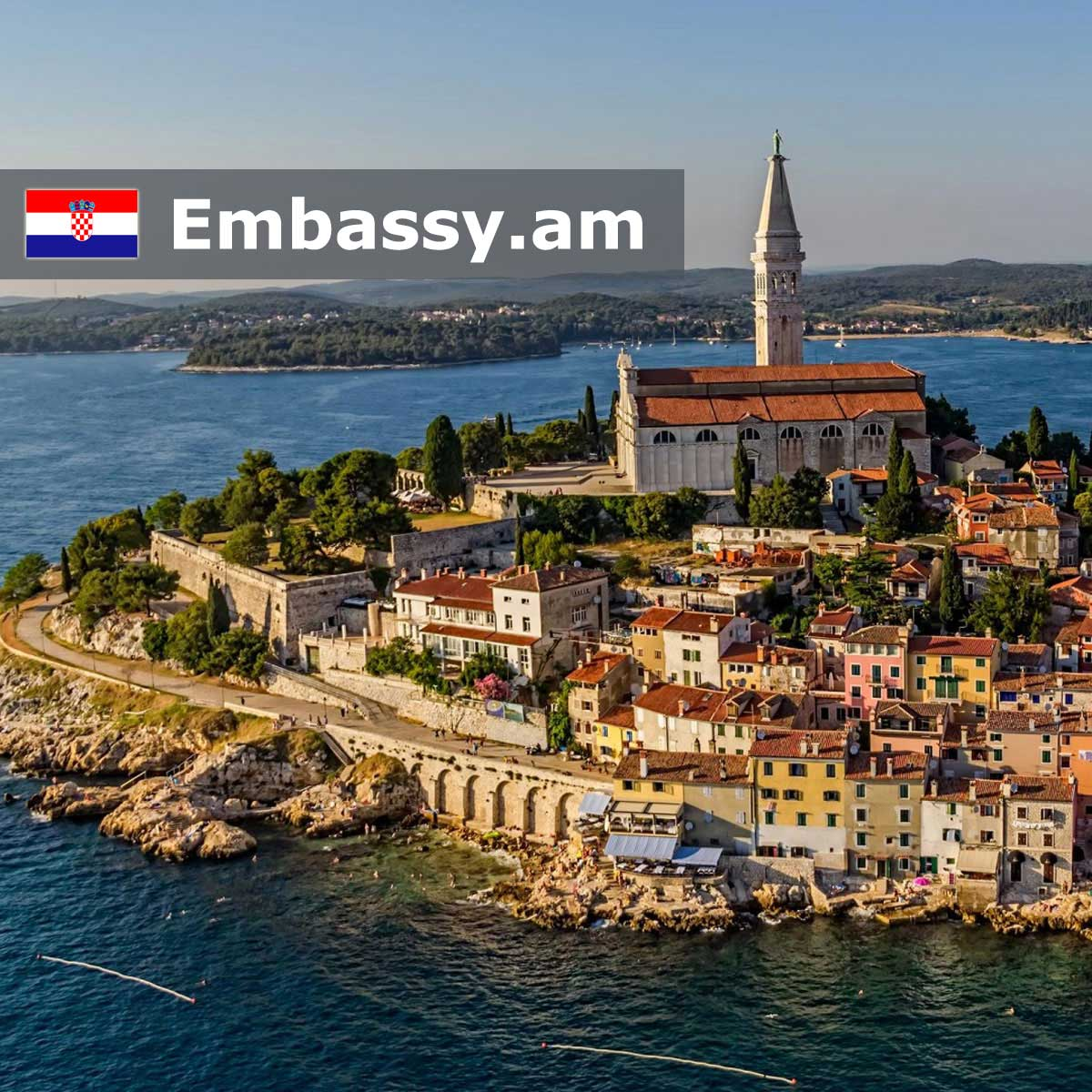 Ровинь - Отели в Хорватии - Embassy.am