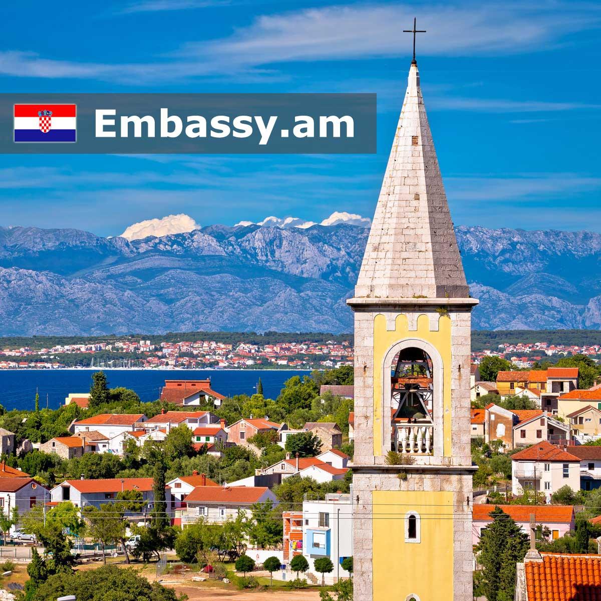 Zadar - Hotels in Croatia - Embassy.am