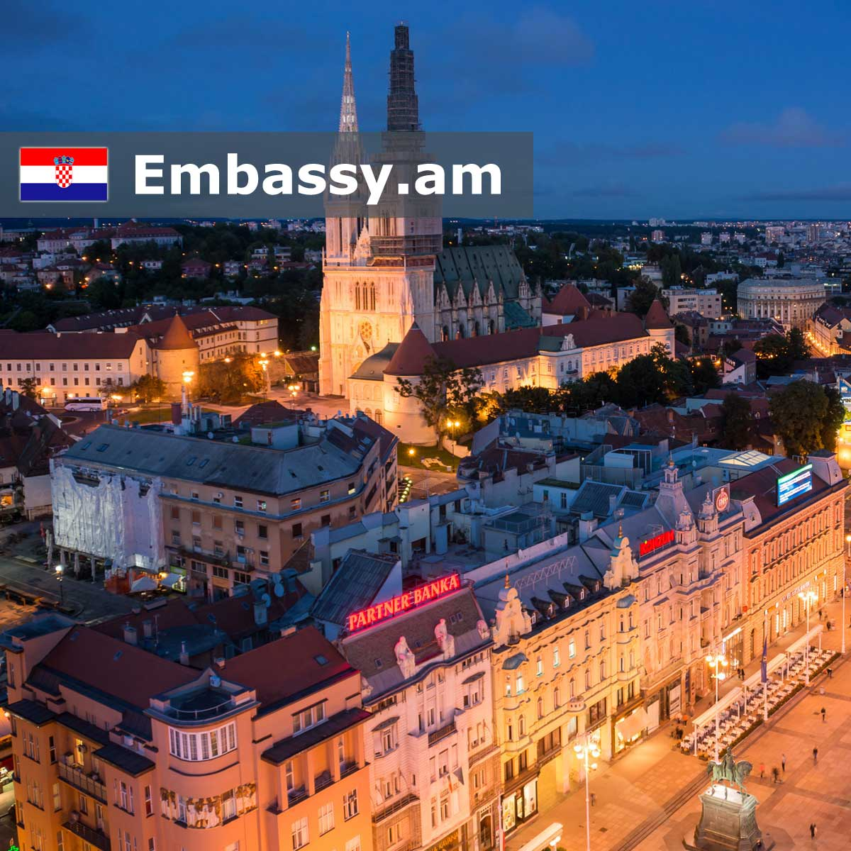 Zagreb - Hotels in Croatia - Embassy.am