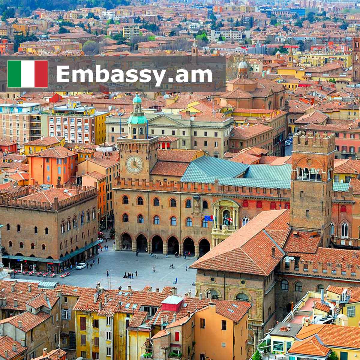Bologna - Hotels in Italy - Embassy.am