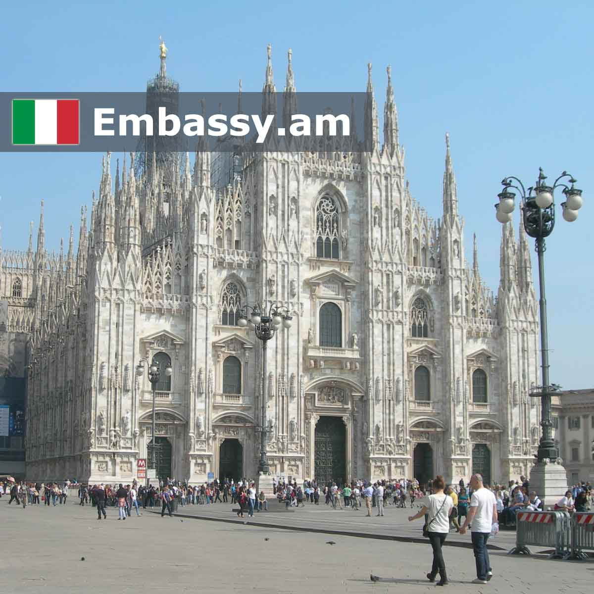 Milan - Hotels in Italy - Embassy.am