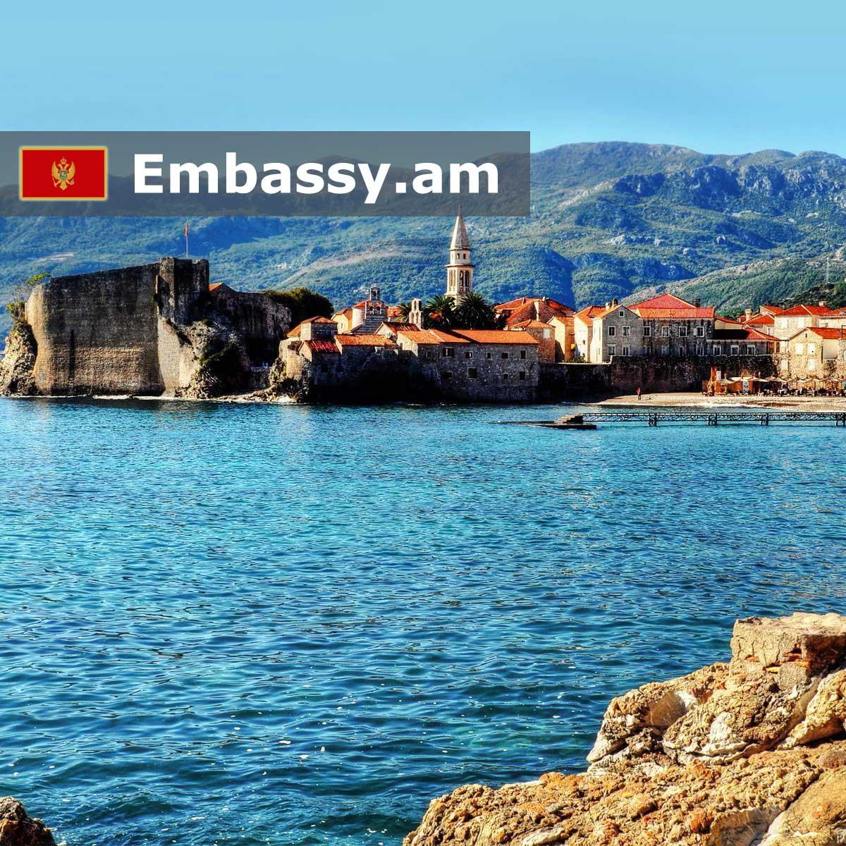 Будва - Отели в Черногории - Embassy.am