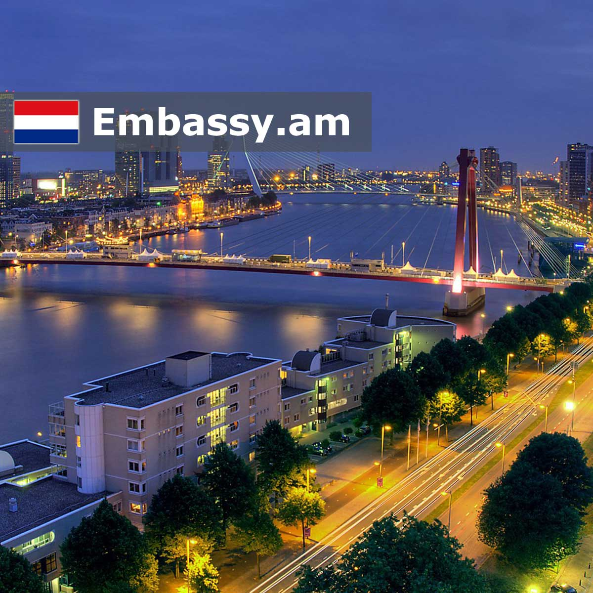 Rotterdam - Hotels in the Netherlands - Embassy.am