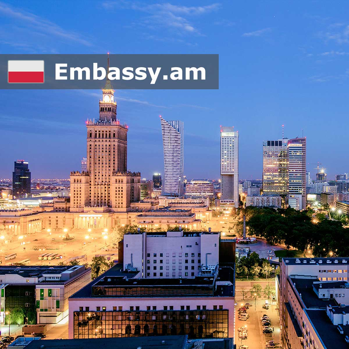 Warsaw - Hotels in Poland - Embassy.am