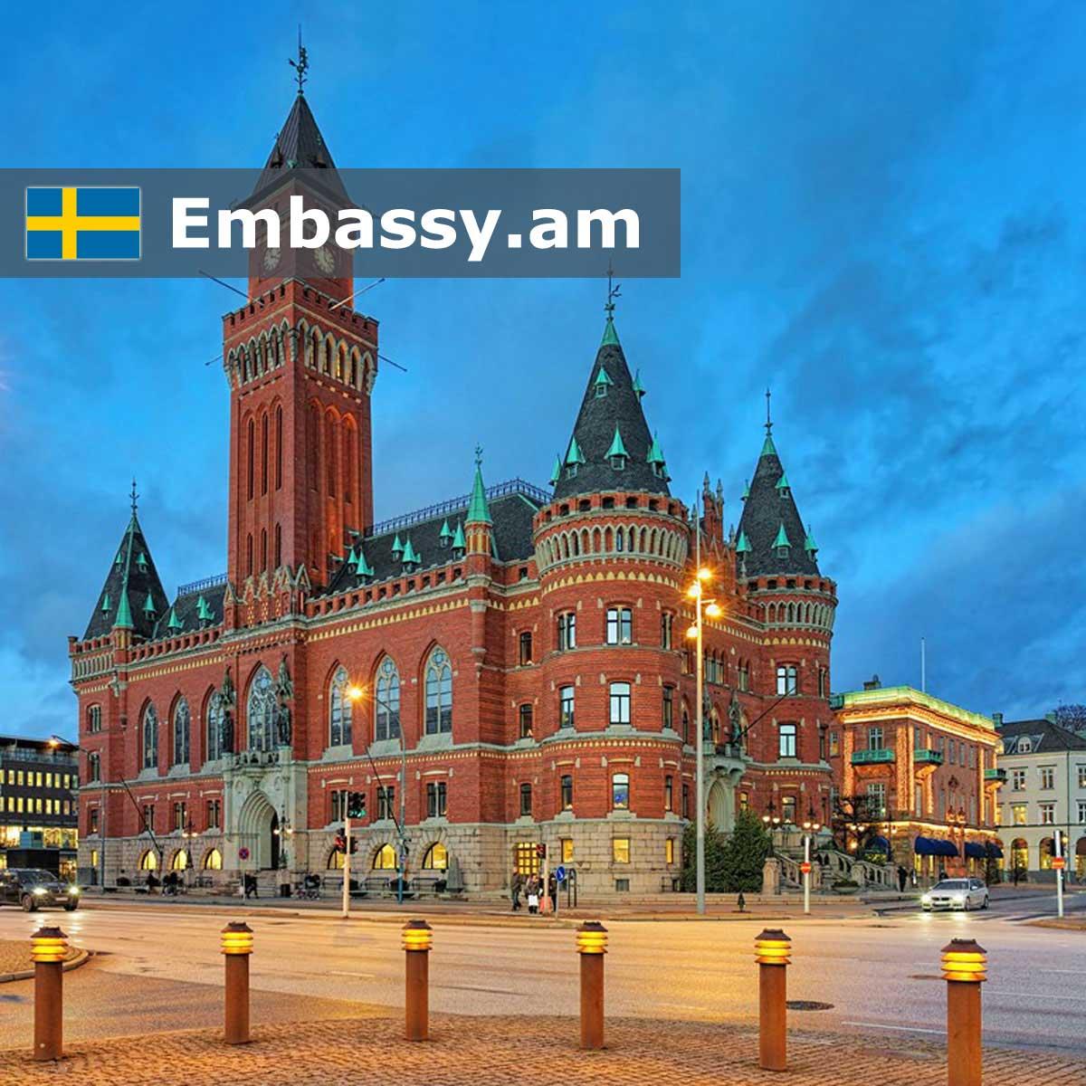 Helsingborg - Hotels in Sweden - Embassy.am