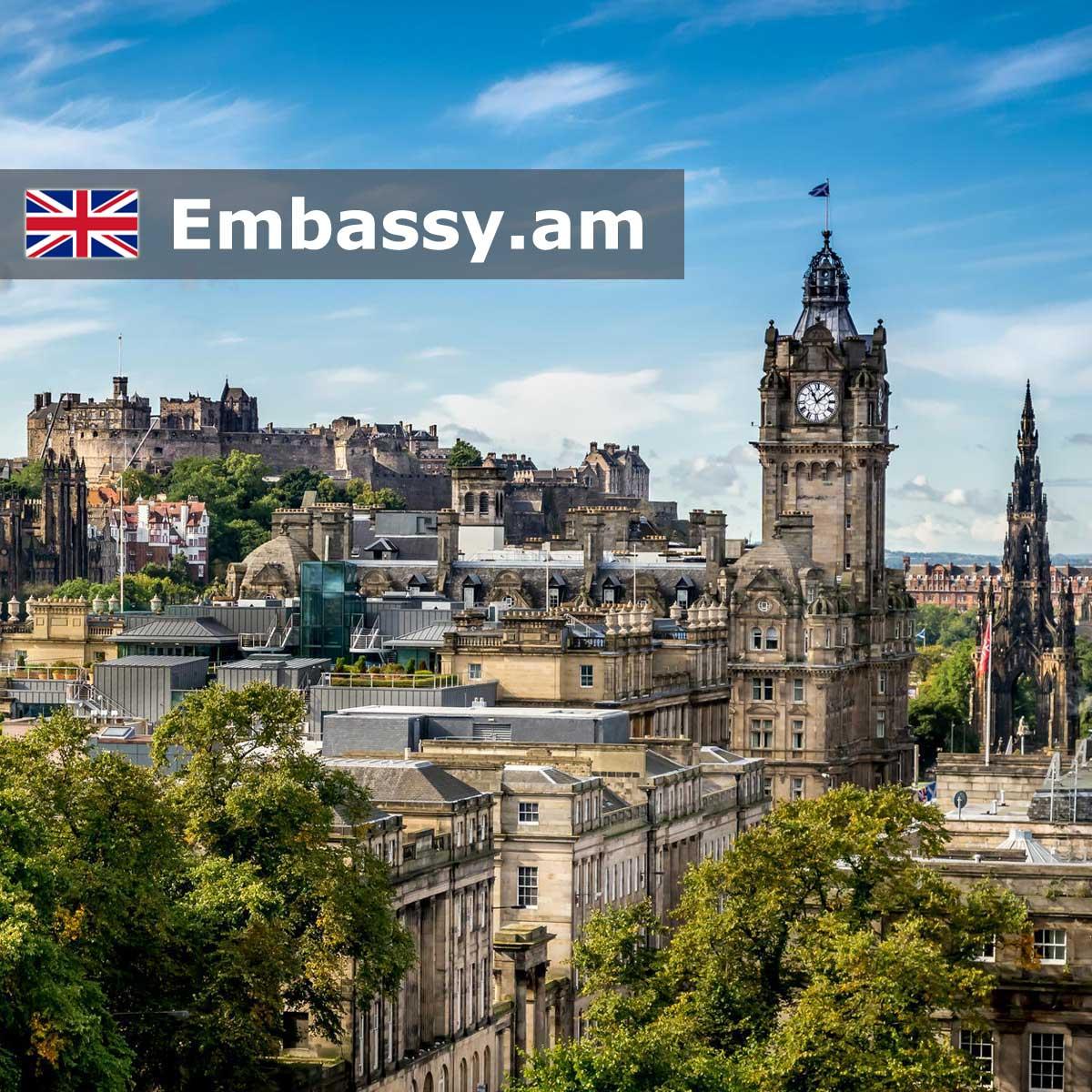 Էդինբուրգ - Հյուրանոցներ Միացյալ Թագավորությունում - Embassy.am
