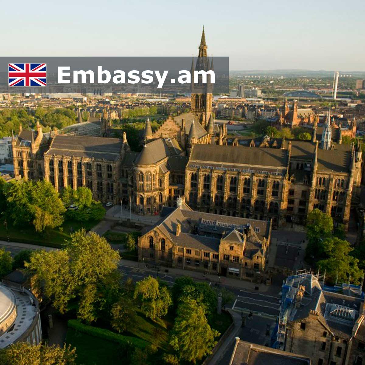 Գլազգո - Հյուրանոցներ Միացյալ Թագավորությունում - Embassy.am