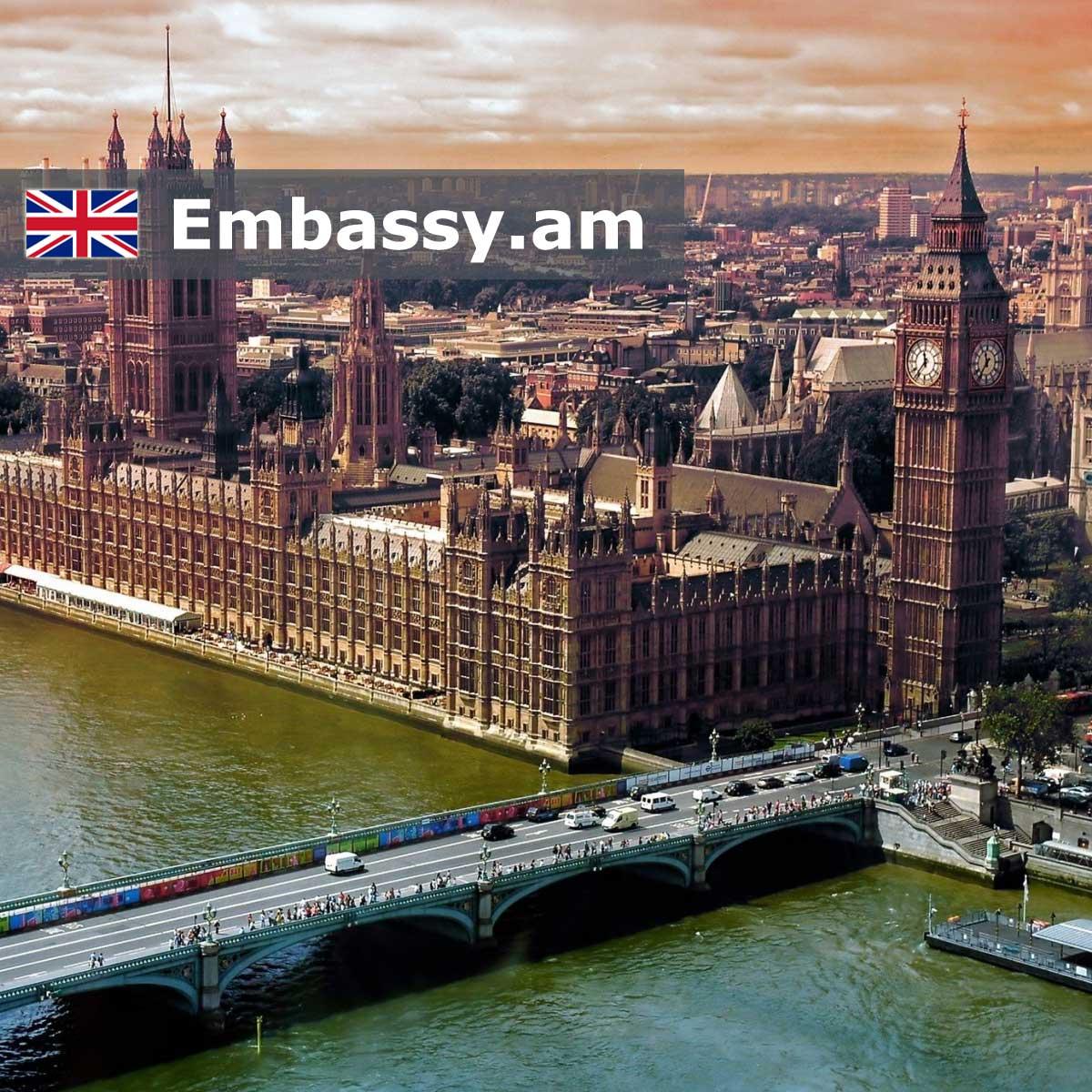 Լոնդոն - Հյուրանոցներ Միացյալ Թագավորությունում - Embassy.am