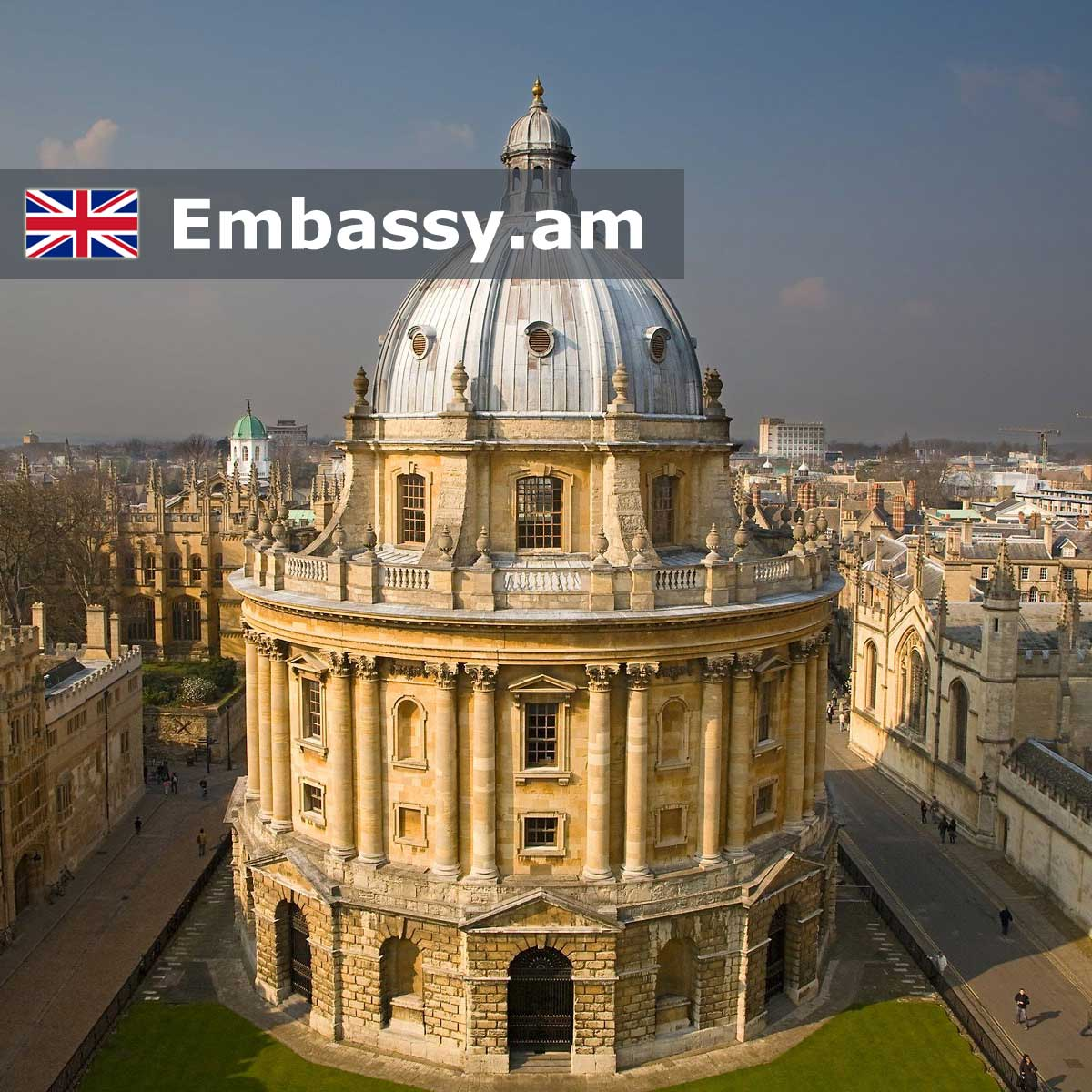 Oxford - Hotels in United Kingdom - Embassy.am