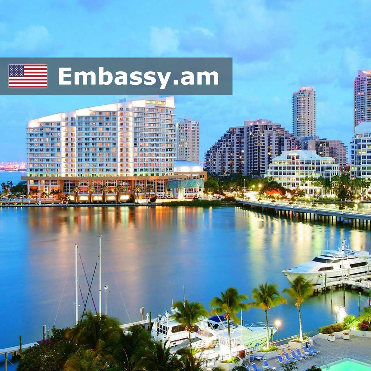 Майами-Бич - Отели в США - Embassy.am