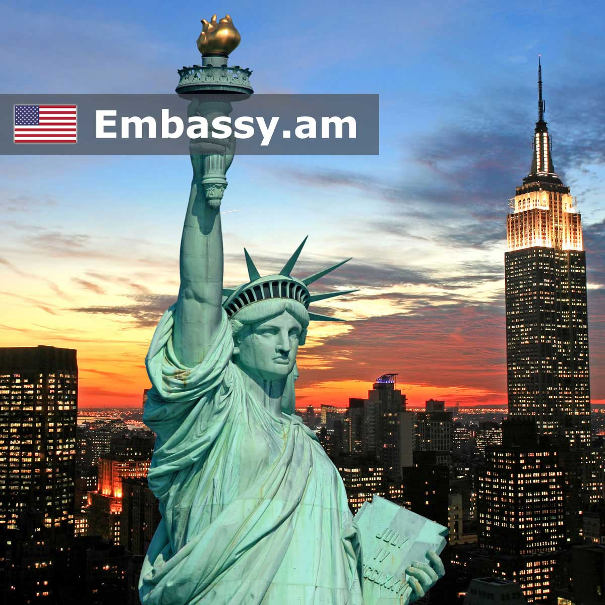 New York - Hotels in United States of America - Embassy.am