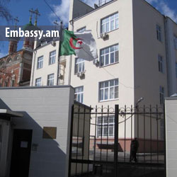 Embassy of Algeria in Moscow, Russia: www.embassy.am