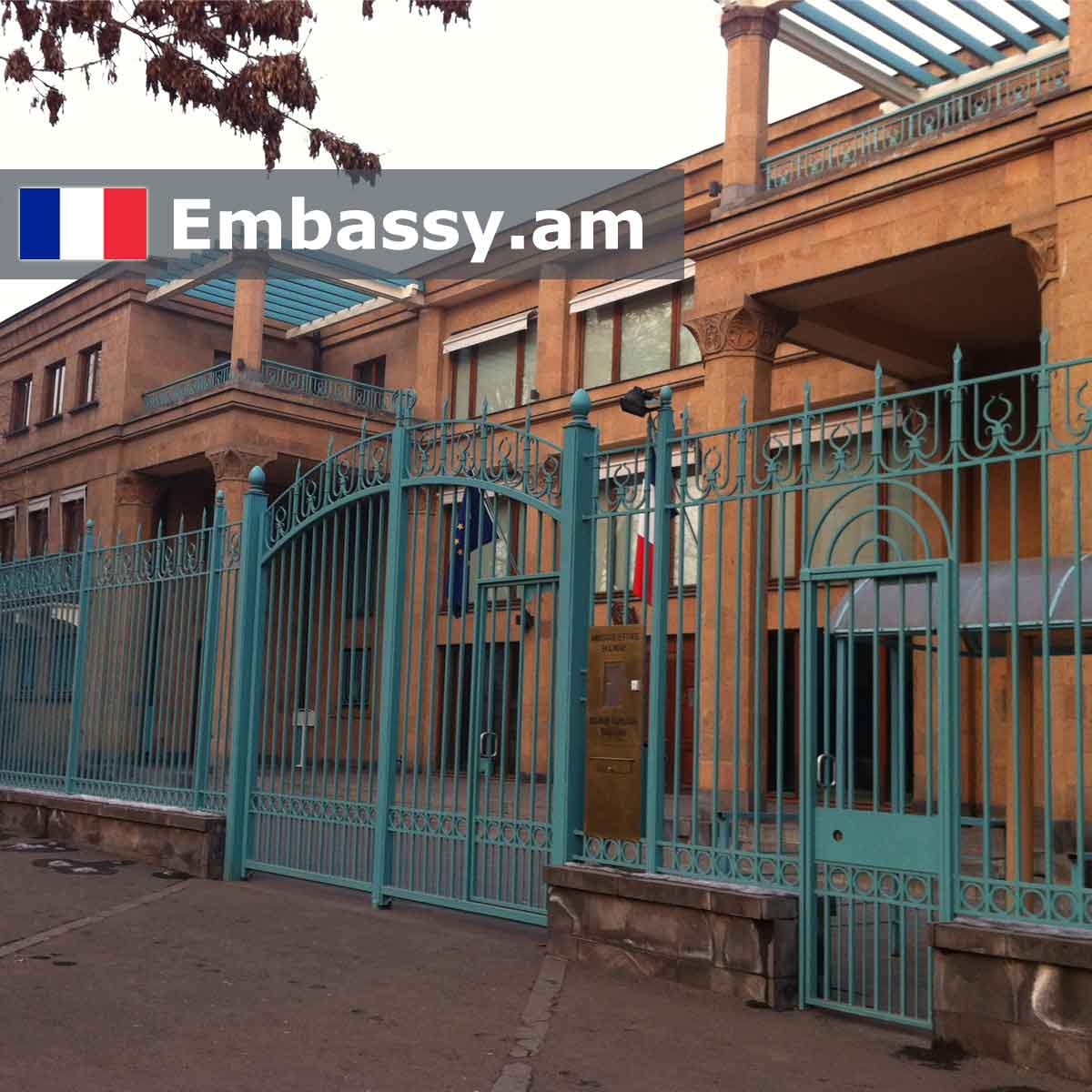 Embassy of the French Republic in Armenia - Embassy am