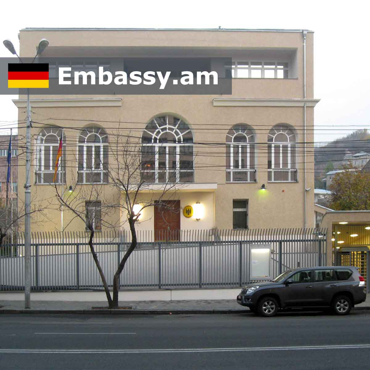 Embassy of Germany in Armenia: www.embassy.am