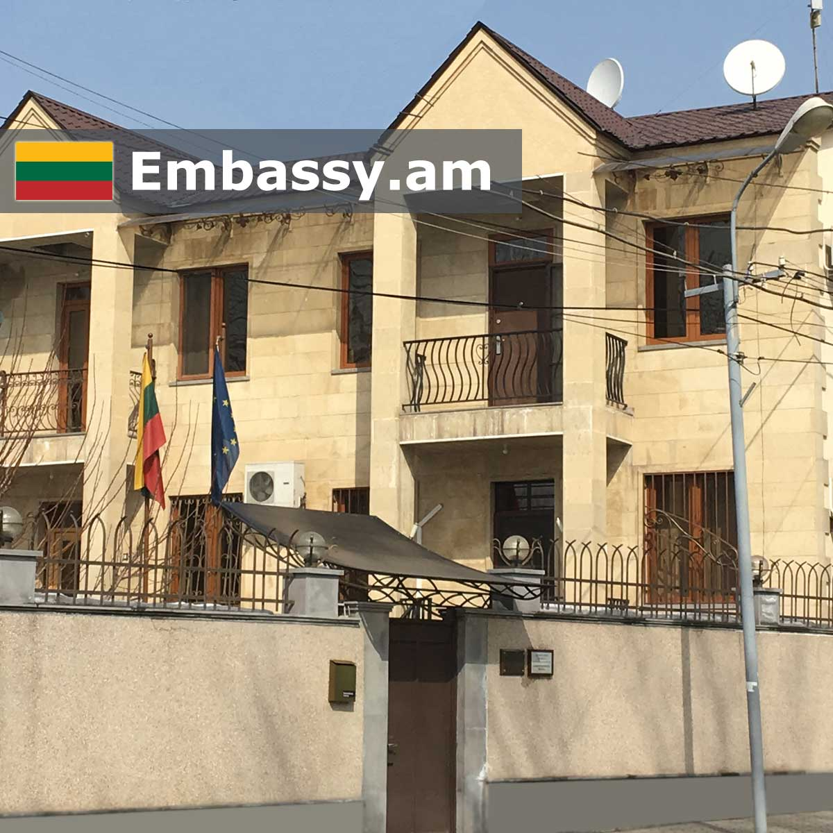 Embassy of the Republic of Lithuania in Armenia - Embassy am