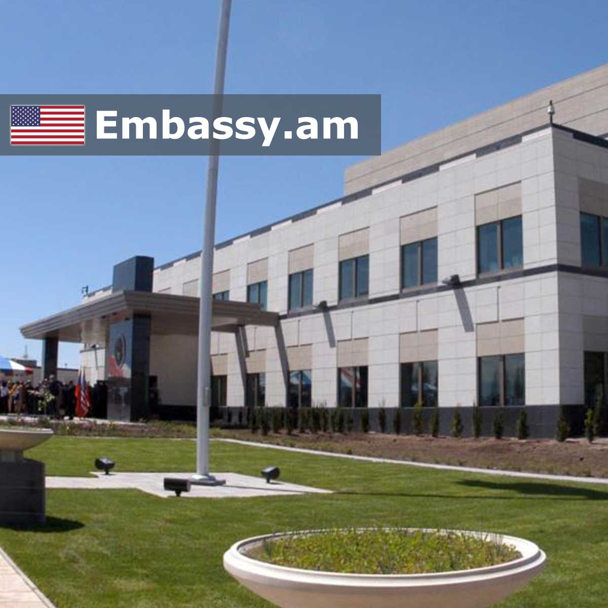 Embassy of the USA in Armenia: www.embassy.am